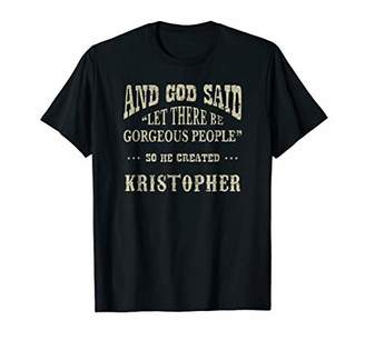 Personalized Birthday Gift For Person Named Kristopher Shirt