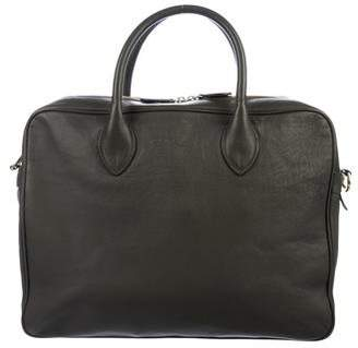 Ralph Lauren Leather Briefcase