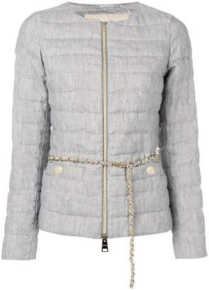 Herno grey fitted jacket