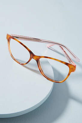 Anthropologie Sadie Tortoise Reading Glasses