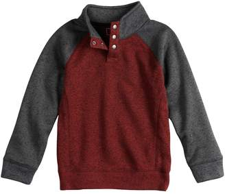 Sonoma Goods For Life Boys 4-12 SONOMA Goods for Life Pullover Mock Neck Raglan Sweater