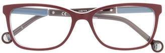 Carolina Herrera Ch rectangular glasses