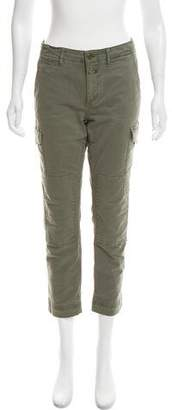 Closed Mid-Rise Utility Pants