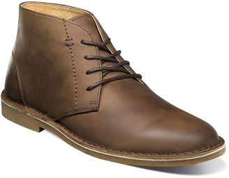 Nunn Bush Mens Galloway Dress Boots Flat Heel Lace-up