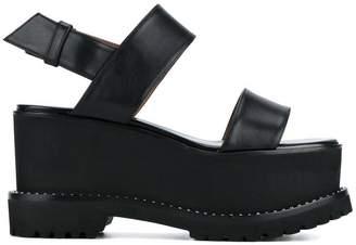 Givenchy Black Ursa 90 platform sandals