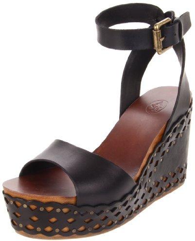 Ash Women's Vanina Platform Sandal, Black, 39 EU/9 M US