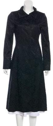 Dolce & Gabbana Long Lace Coat