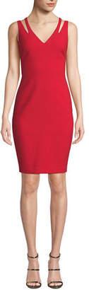 LIKELY Cruz Cutout Sleeveless V-Neck Cocktail Dress