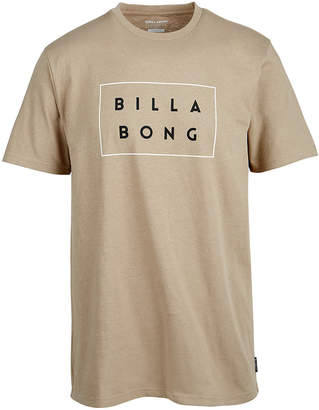 Billabong Men's DieCut Box Logo T-Shirt