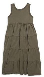 Joah Love Toddler's, Little Girl's& Girl's Ruffled Cotton Maxi Dress