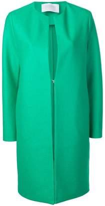 Harris Wharf London collarless coat
