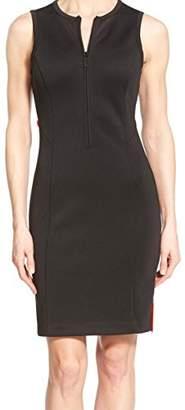 MICHAEL Michael Kors Women's Scuba Panel Zip Dress