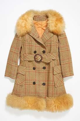 Vintage Loves Vintage Belted Wool Coat