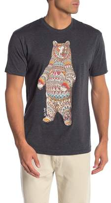 Riot Society Ornate Bear Graphic Tee
