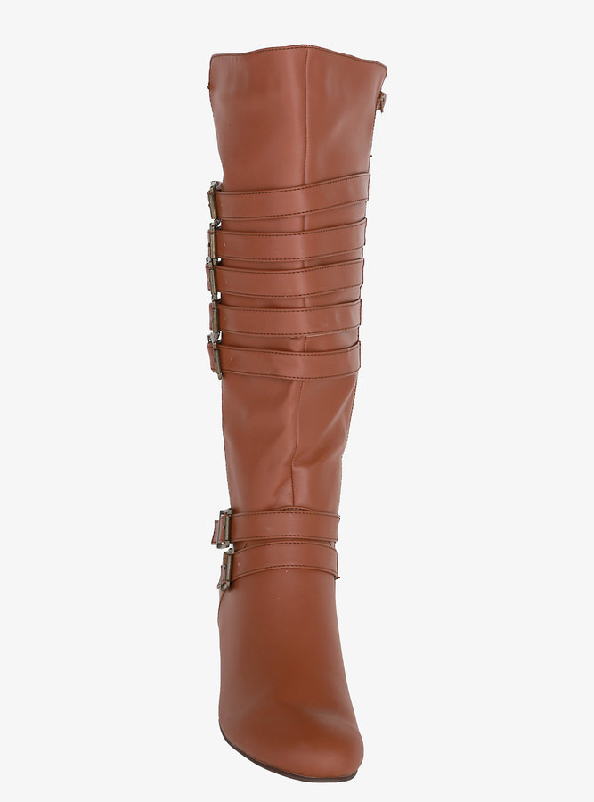Torrid Strappy Wedge Boots (Wide Width)