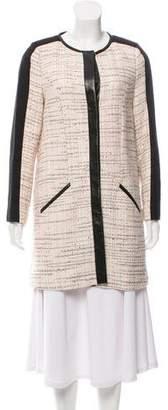 Jason Wu Knee-Length Tweed Coat