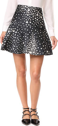 RED Valentino Star Skirt $350 thestylecure.com