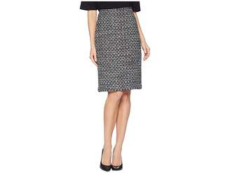 Tahari ASL Boucle Sequin Skirt Women's Skirt