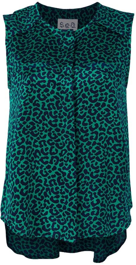 Sea New York Leopard print blouse