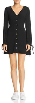 DAY Birger et Mikkelsen Re:Named Babi Button-Down Tie-Detail Mini Dress