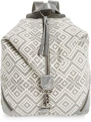 TEN79LA Beaded Woven Backpack