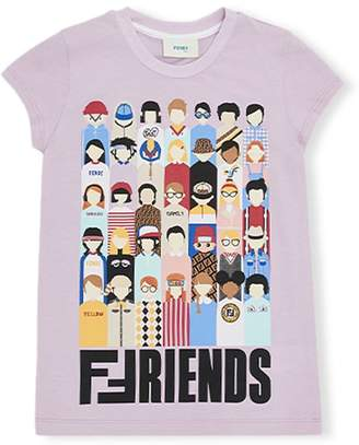 Fendi Family print T-shirt