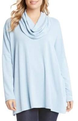 Karen Kane Long-Sleeve Cowlneck Sweater