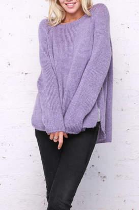 Wooden Ships Melange Boyfriend Sweater