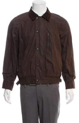 Belstaff Coated Harrington Jacket