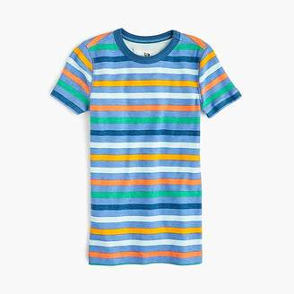 J.Crew Kids' short-sleeve pajama set in blue stripe