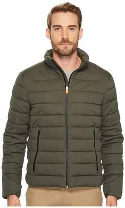 Save the Duck Short Heather Solid Stretch Coat Men's Coat