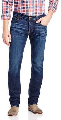 7 For All Mankind AirWeft Slimmy Slim Fit Jeans in Commotion