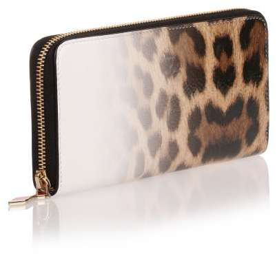 Christian Louboutin  Christian Louboutin Panettone degrade leopard print leather wallet