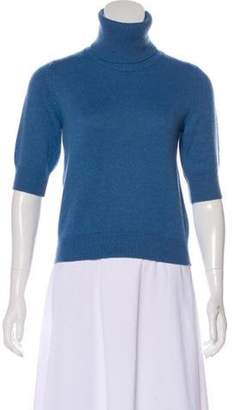 Dolce & Gabbana Cashmere Crop Sweater blue Cashmere Crop Sweater