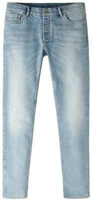 Mango Man MANGO MAN Slim-fit light vintage wash Tim jeans