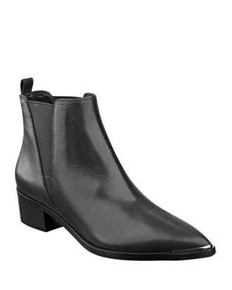 Marc Fisher Yale Leather Pointed Booties