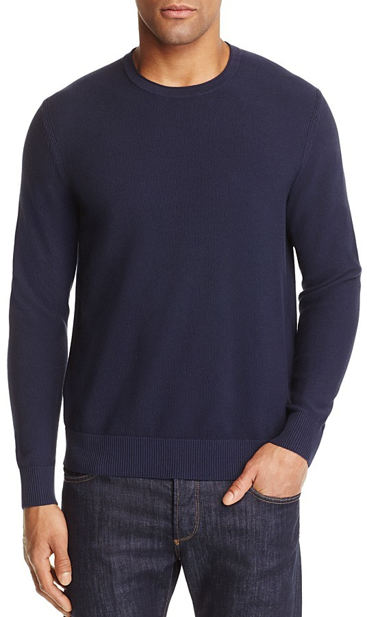 MICHAEL Michael KorsMichael Kors Textured Cotton Crewneck Sweater - 100% Exclusive