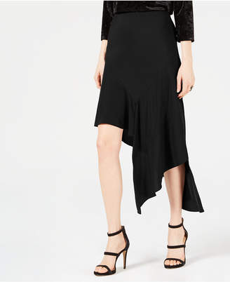 Bar III Asymmetrical Midi Skirt