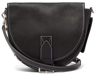 J.W.Anderson Bike Leather Saddle Bag - Womens - Black