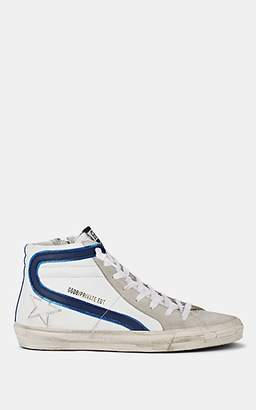 Golden Goose Women's Slide Leather & Suede Sneakers - White