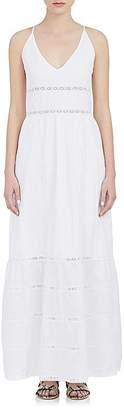 Barneys New York BARNEYS NEW YORK WOMEN'S SLEEVELESS MAXI DRESS $425 thestylecure.com
