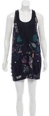 Versus Silk Floral Dress w/ Tags