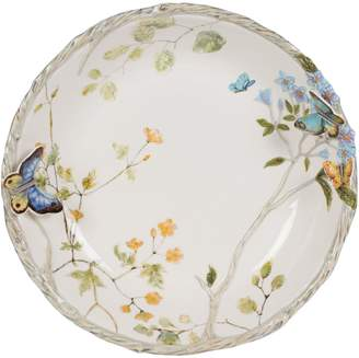 Fitz & Floyd Butterfly Fields Earthenware Serving Bowl