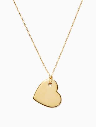 Kate Spade Demi fine heart pendant