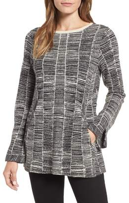 Nic+Zoe Symmetry Cotton Blend Sweater
