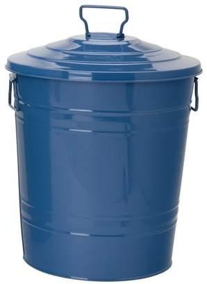 Houston International Enameled Galvanized Steel Manual Lift Recycling Bin