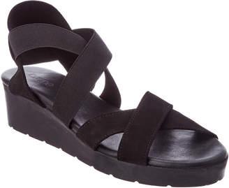 Arche Malyak Nubuck Leather Wedge Sandal