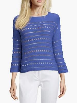Betty Barclay Crochet Knit Jumper