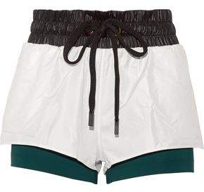 Hilo Layered Shell And Stretch-Jersey Shorts