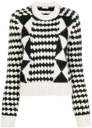 Saint Laurent loose knit sweater